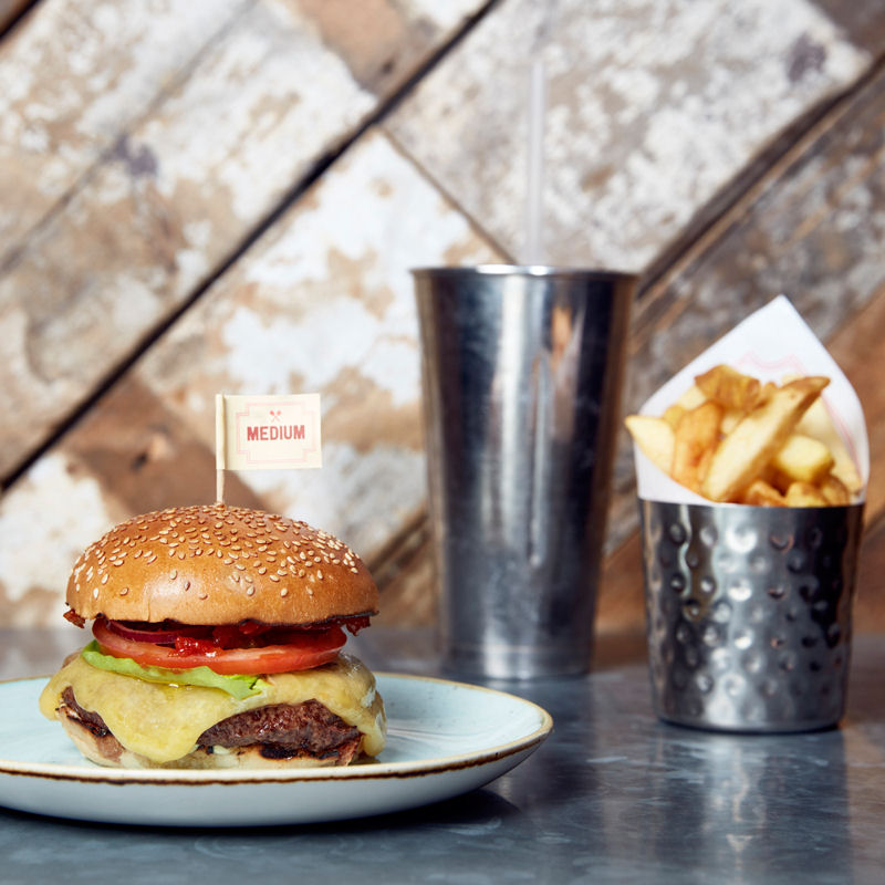 Gourment Burger Kitchen Spinningfields