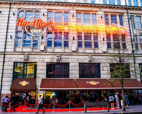Manchester Restaurant Offers - Hard Rock Cafe Manchester