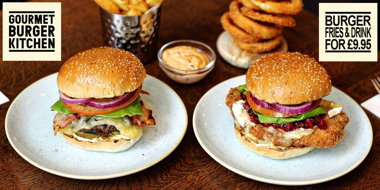 Gourment Burger Kitchen Manchester