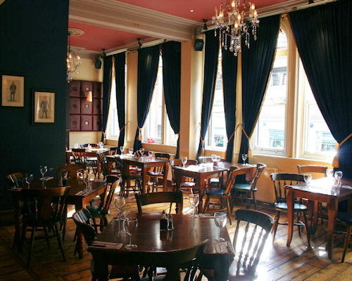 British restaurants in Manchester ~ The English Lounge