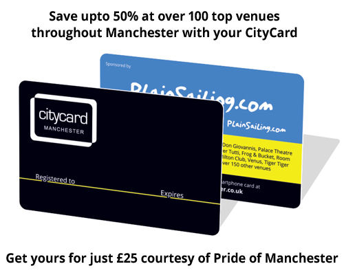 City Card Manchester