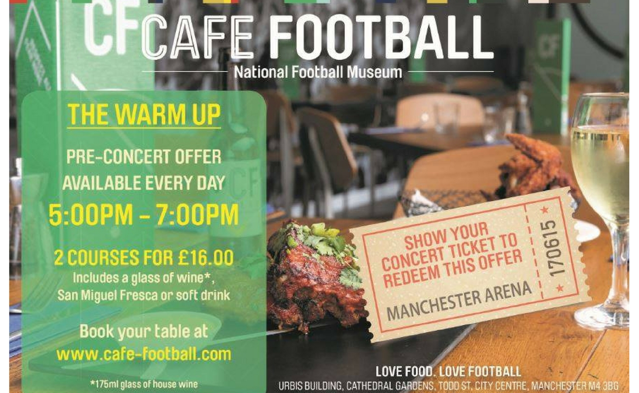 Cafe Football National Football Museum