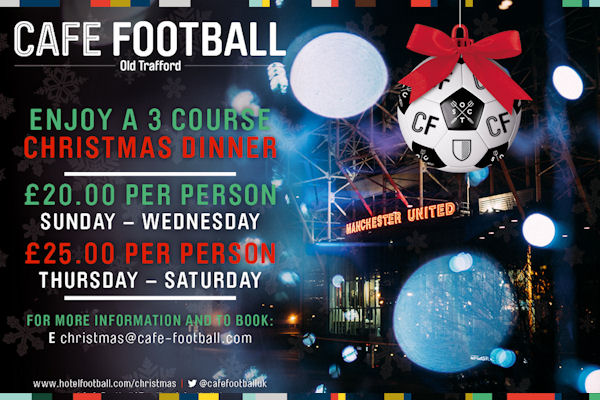 Christmas In Manchester Restaurants - Cafe Football
