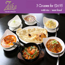 Zaika Indian Restaurant Manchester