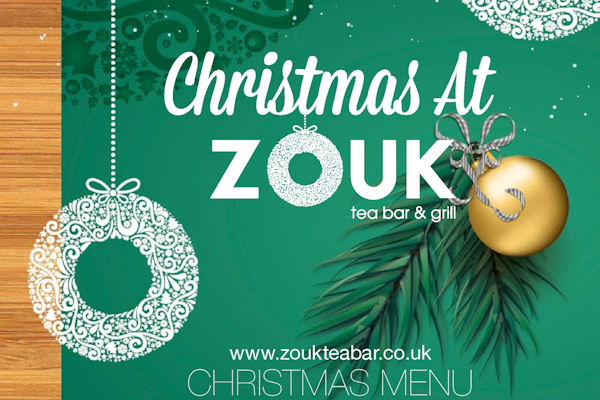 Christmas In Manchester Restaurants - Zouk
