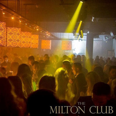 Christmas In Manchester Restaurants - The Milton Club