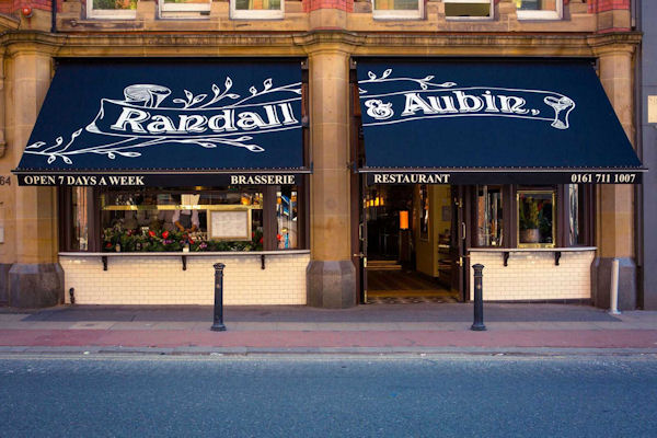 Christmas Restaurants in Manchester - Randall & Aubin