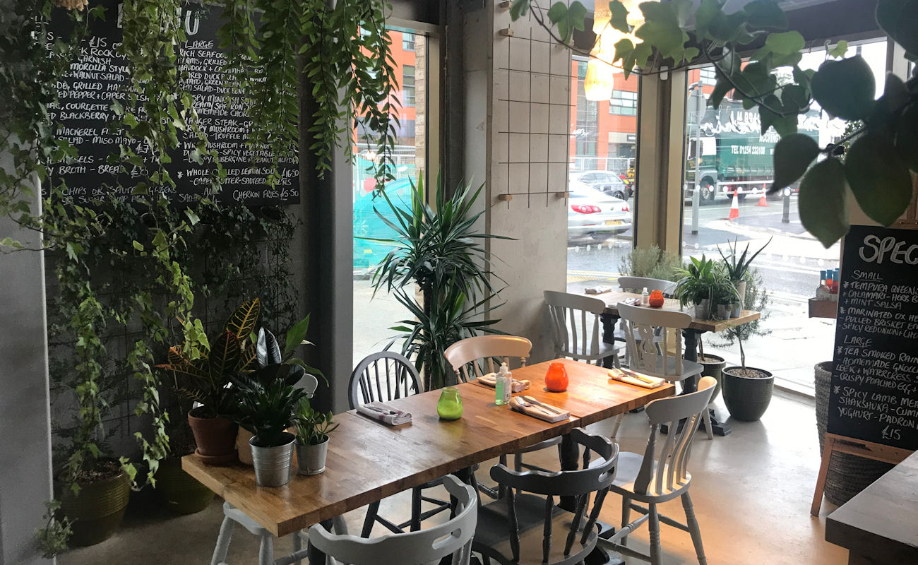 Restaurants in the Northern Quarter Manchester ~ Street Urchin Manchester