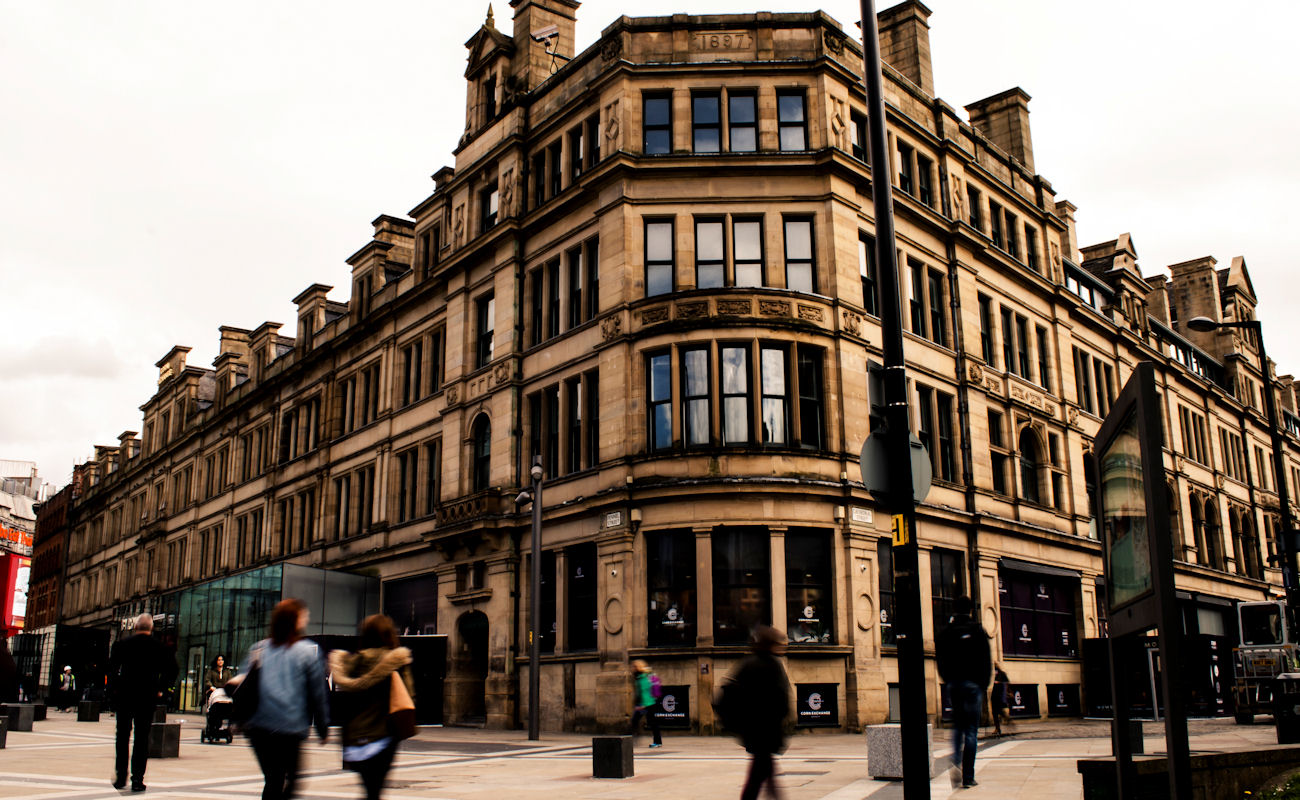Restaurants near the Corn Exchange Manchester ~ The Corn Manchester