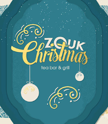 Christmas Offers Restaurants in Manchester ~ Zouk Manchester