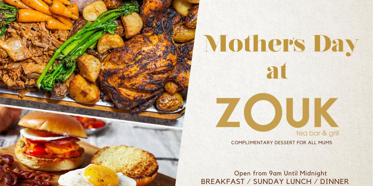 Zouk Tea Bar & Grill Manchester