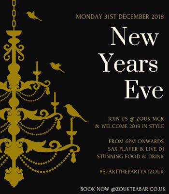 Manchester Bars New Year's Eve ~ Zouk Manchester