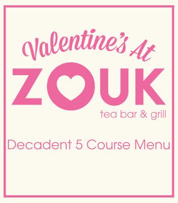 Valentine's Day Offers Restaurants of Manchester - Zouk Manchester