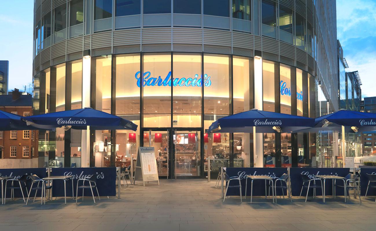 Manchester restaurants - Carluccio's Manchester