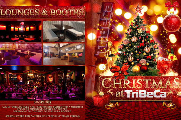 Christmas Restaurants in Manchester - Tribeca